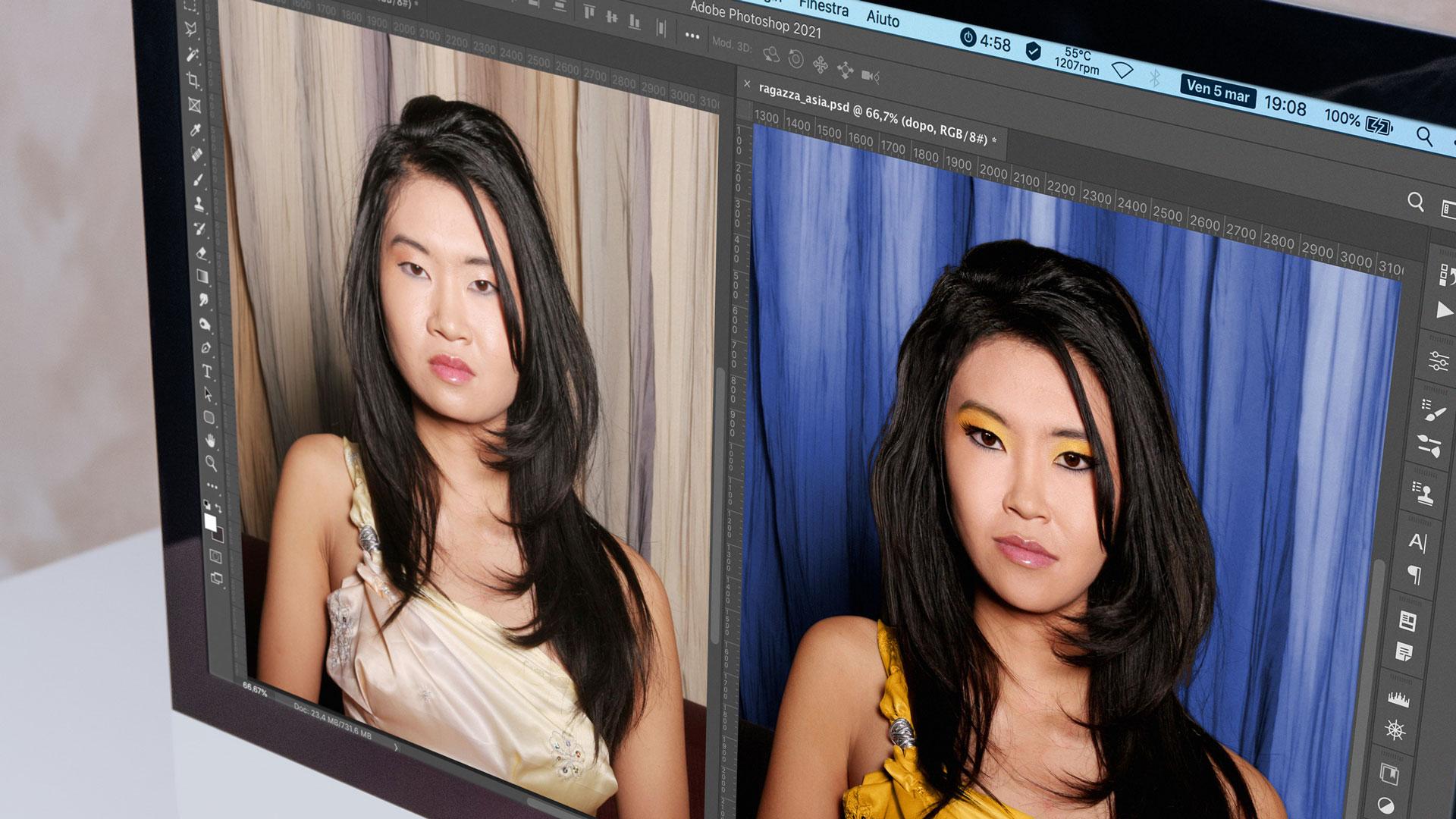 Post-produzione fotografica